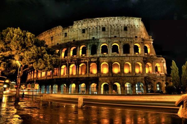 شهر رم پایتخت ایتالیا