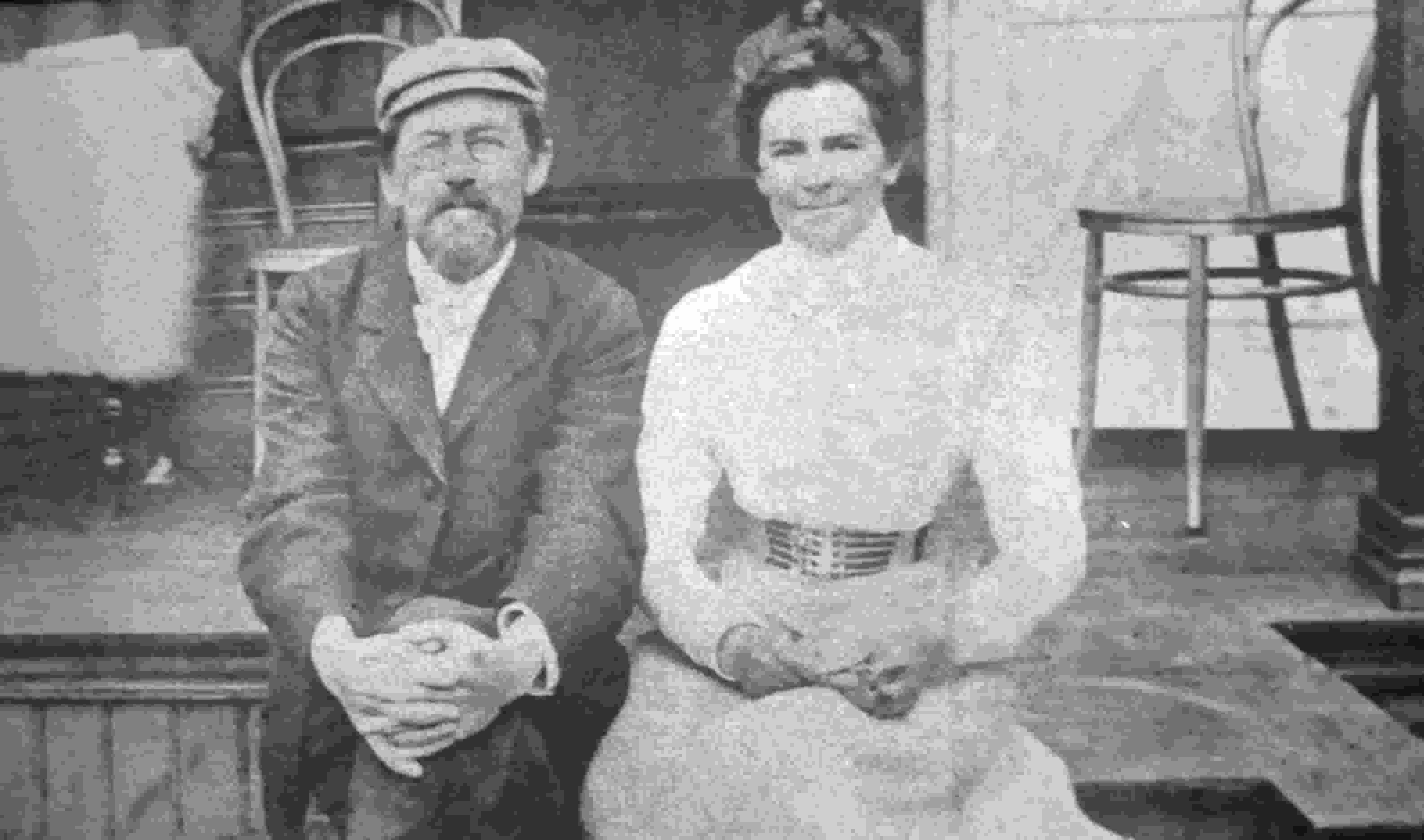 چخوف و همسرش الگا