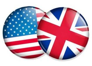تفاوت انگلیسی بریتانیایی و آمریکایی