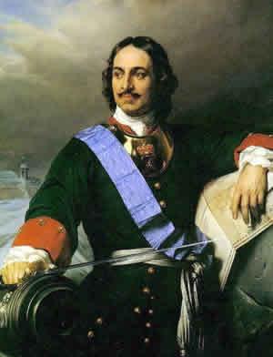 پطر کبیر اولین پادشاهی که دستور قانونمند کردن زبان روسی را داد