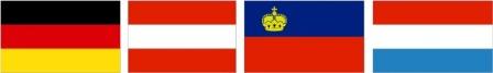 پرچم کشورهای آلمانی زبان