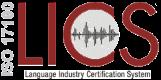 EN15038/ISO17100 certificate