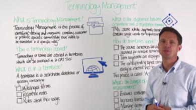 آموزش مدیریت ترمینولوژی