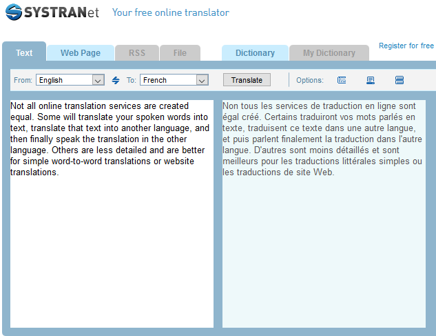 نمونه ترجمه آنلاین سیسترانت، مترجم آنلاین فایل