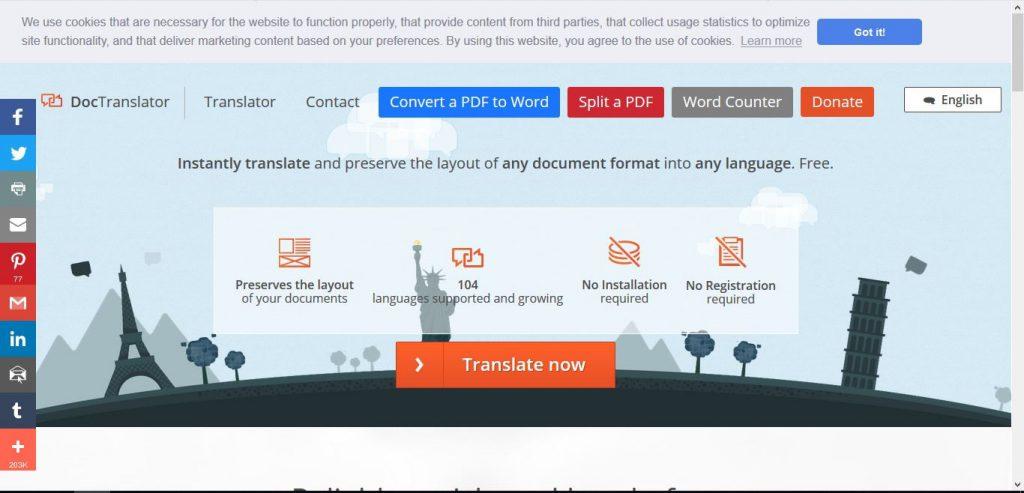 چگونگی ترجمه آنلاین فایل pdf مرحله اول