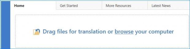 چگونگی ترجمه فایل pdf با ترادوس مرحله اول