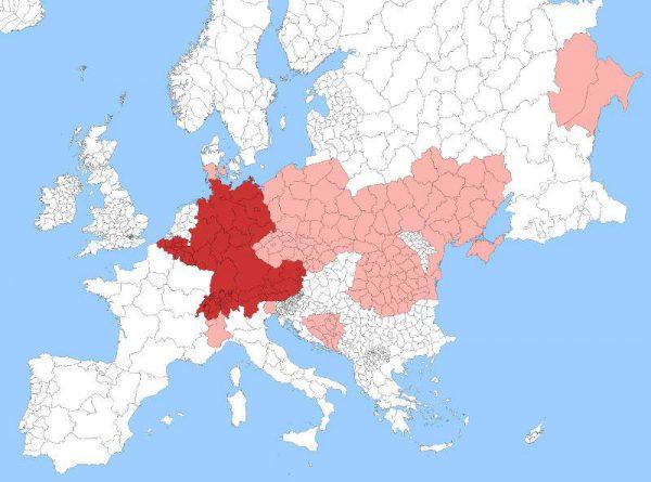 کشور هایی که به زبان المانی صحبت می کنن
