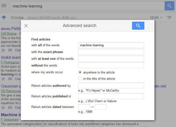 سرچ پیشرفته گوگل اسکولار برای ترجمه تخصصی مقالات دانشگاهی