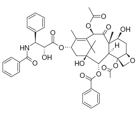 نمونهای از ساختار شیمیایی