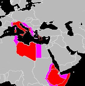 کشورهای ایتالیایی زبان در آفریقا