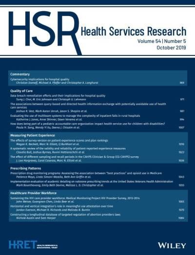 پژوهشهای خدمات بهداشتی