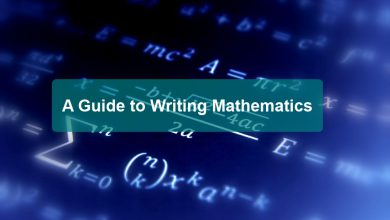 Guide to Writing Mathematics