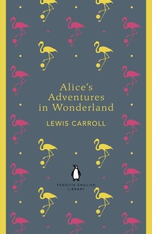 طرح جلدی زیبا برای کتاب آلیس در سرزمین عجایب