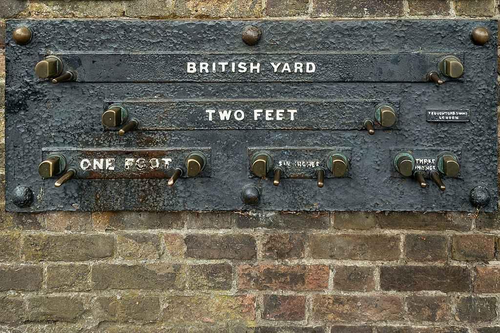 یارد فوت و اینچ