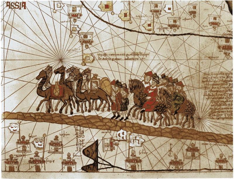 جنگهای صلیبی و راهی شدن تجار اروپایی به سوی سرزمینهای عربی