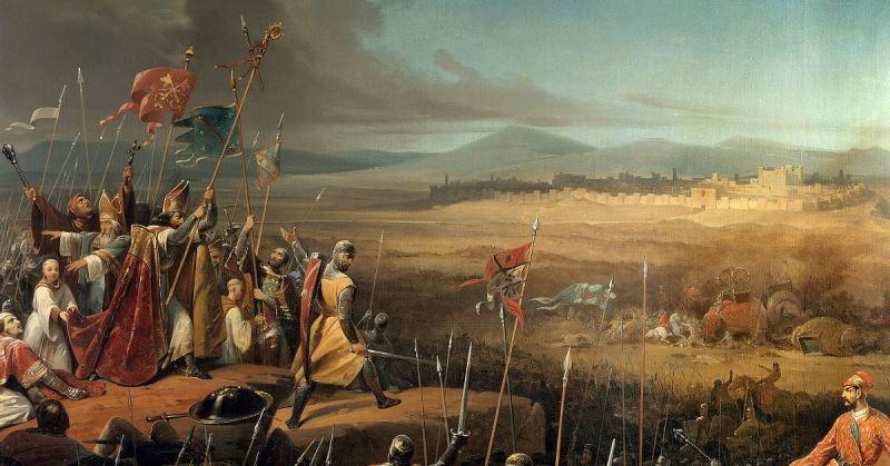 جنگهای صلیبی و گسترش زبان عربی
